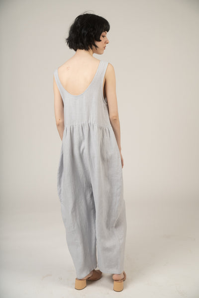 Heana jumpsuit in cloud linen