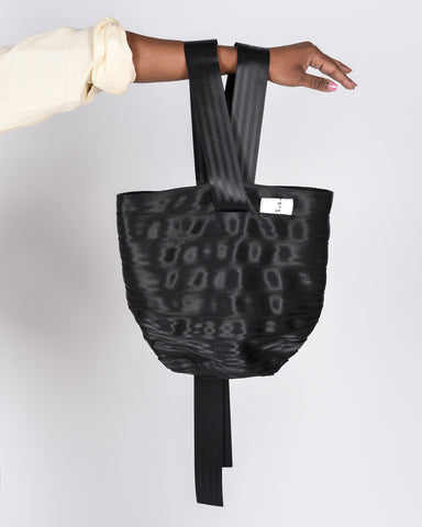 Safety hold-all bag in black