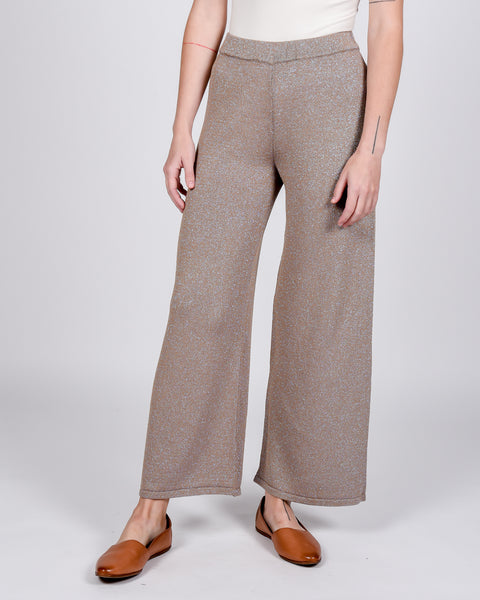 Ant lurex knit pants