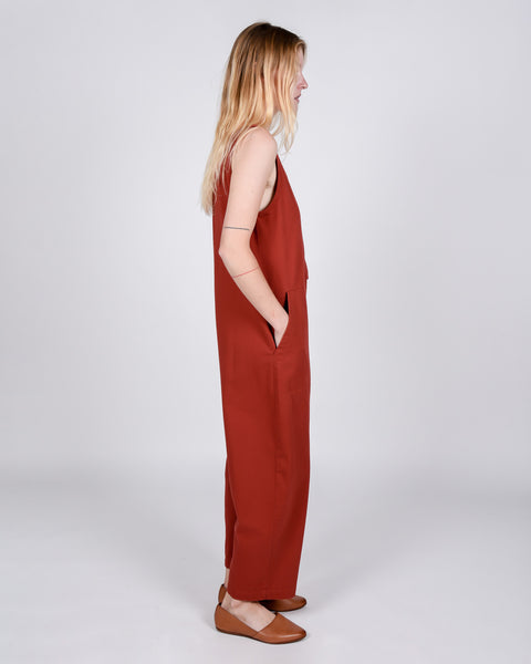Leroy jumpsuit in terra