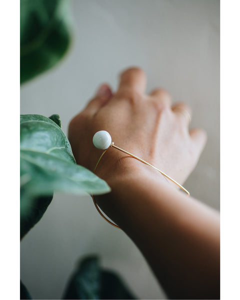 Dear bracelet in Gold