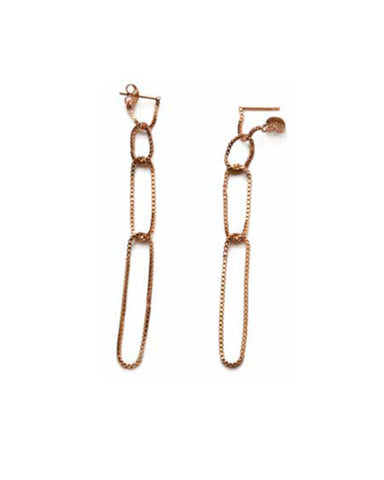 Looped drop earrings