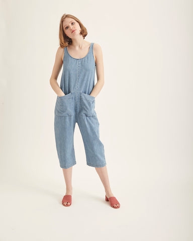 Gary Jumpsuit in denim