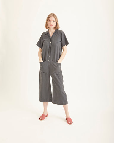 Mabel coverall in coal