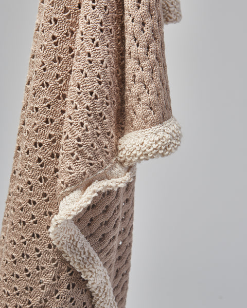 Cotton Lace throw