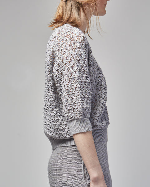 Ash pullover in Lavender grey