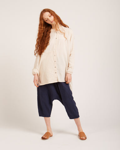Sabine Shirt in Kinari white
