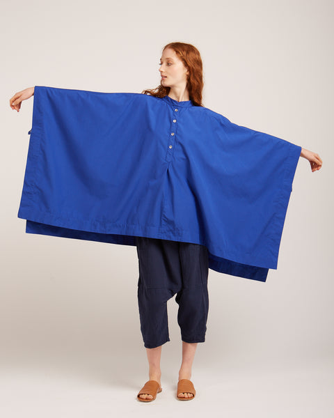 Porter tunic in electric blue