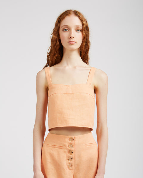 Jaja top in light peach