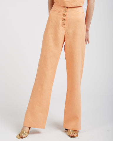 Adeline pants in light peach