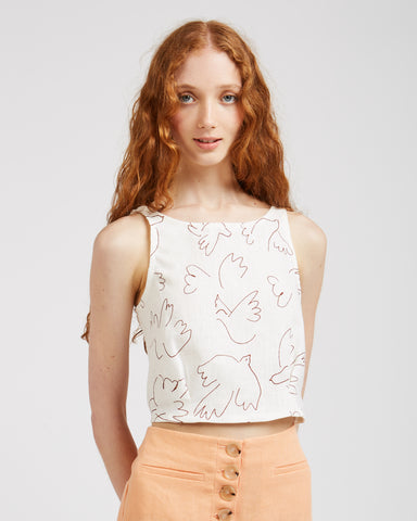 Colomba printed top
