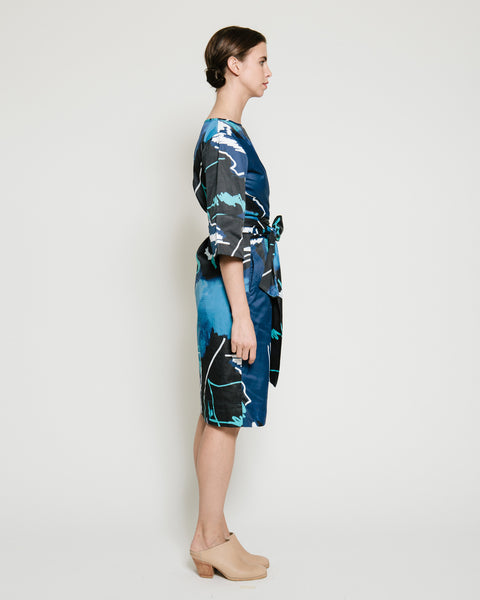 Harper Dress in Swiggle Print - Founders & Followers - Gary Bigeni - 2