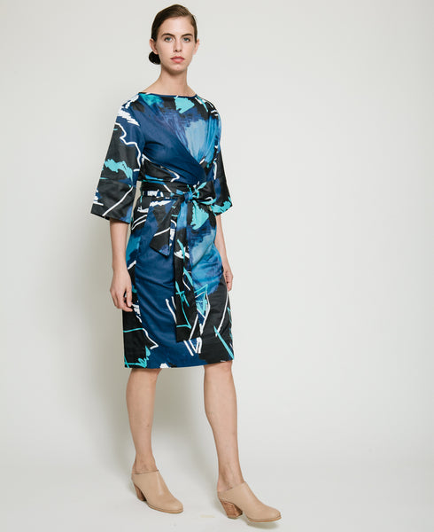 Harper Dress in Swiggle Print - Founders & Followers - Gary Bigeni - 3