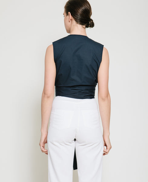 Sall Sleeveless Wrap Top - Founders & Followers - Gary Bigeni - 4