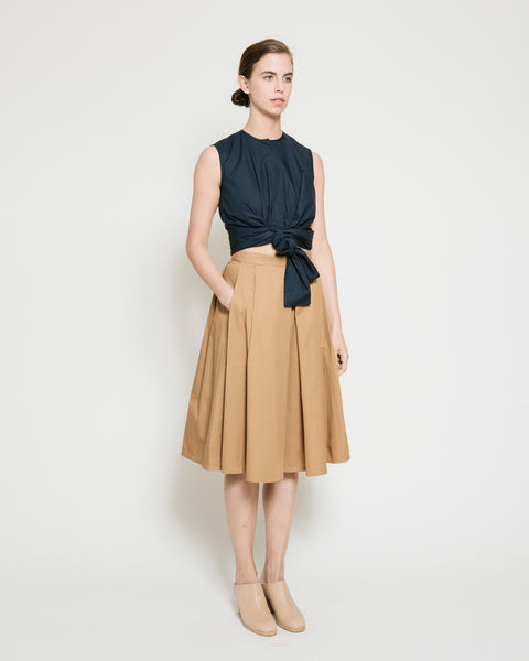 Kramer Pleated Skirt - Founders & Followers - Gary Bigeni - 2