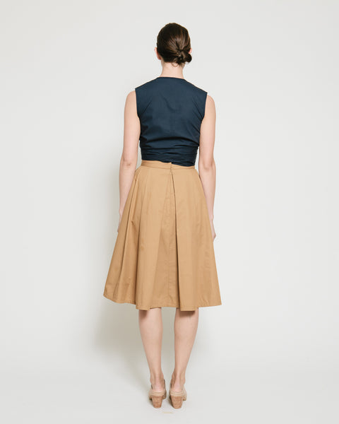 Kramer Pleated Skirt - Founders & Followers - Gary Bigeni - 4