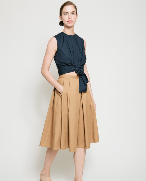Kramer Pleated Skirt - Founders & Followers - Gary Bigeni - 8