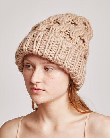 Honey beanie in taupe