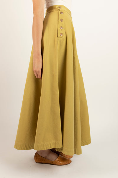 Lindy skirt in Ochre