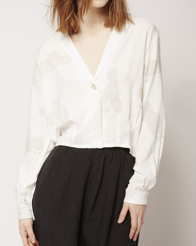 Doricati III Shirt in White Print
