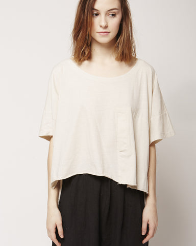 Paige tee in birchwood