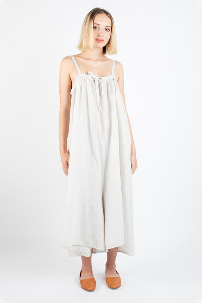 Ida jumpsuit in clay stripe