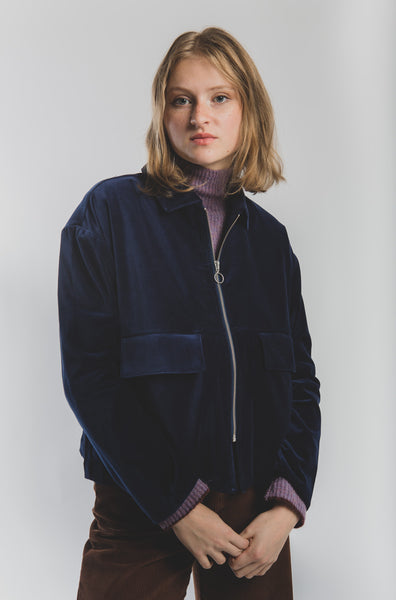 Jawara jacket in Dark Navy