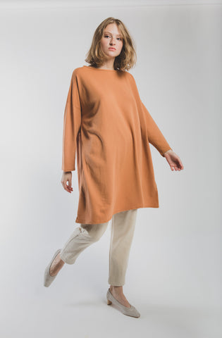 Simona terry tunic dress