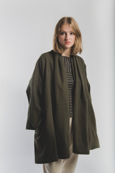 Antwerp coat in Olive