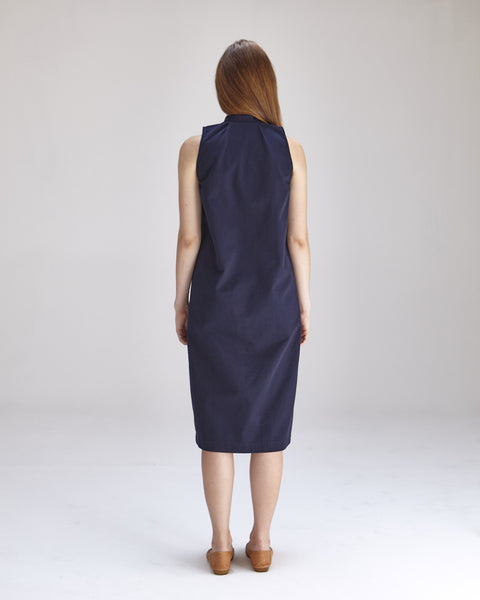 Lucy Dress in Navy - Founders & Followers - Ilana Kohn - 3