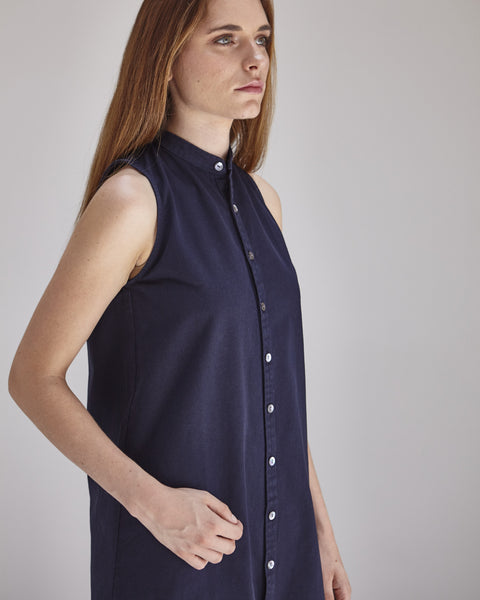 Lucy Dress in Navy - Founders & Followers - Ilana Kohn - 5