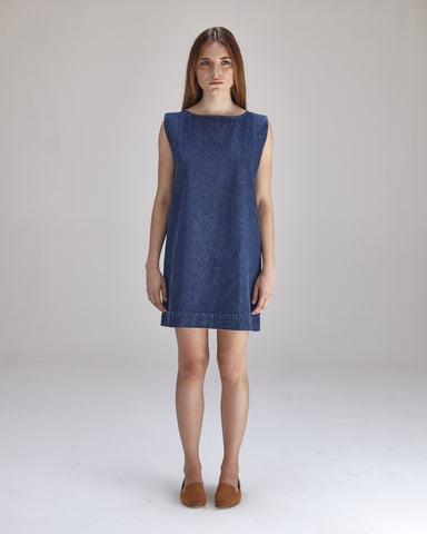 Kate Mini Dress in Denim - Founders & Followers - Ilana Kohn - 1