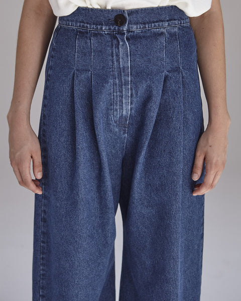 Boyd Pants in Denim - Founders & Followers - Ilana Kohn - 7