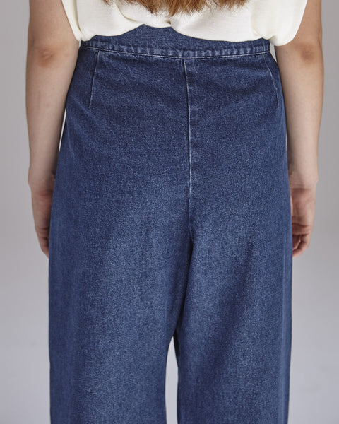 Boyd Pants in Denim - Founders & Followers - Ilana Kohn - 8