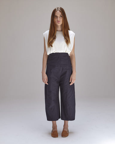 Morris Pants in Navy - Founders & Followers - Caron Callahan - 1