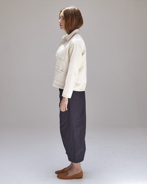 Krasner Jacket in Ivory - Founders & Followers - Caron Callahan - 3