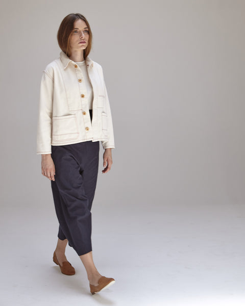 Krasner Jacket in Ivory - Founders & Followers - Caron Callahan - 5