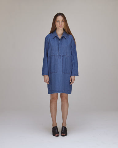 William Dress in Indigo - Founders & Followers - Caron Callahan - 1