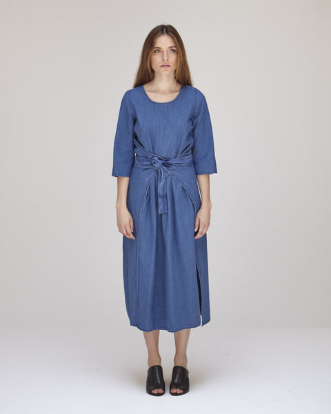 Hester Dress in Indigo - Founders & Followers - Caron Callahan - 1