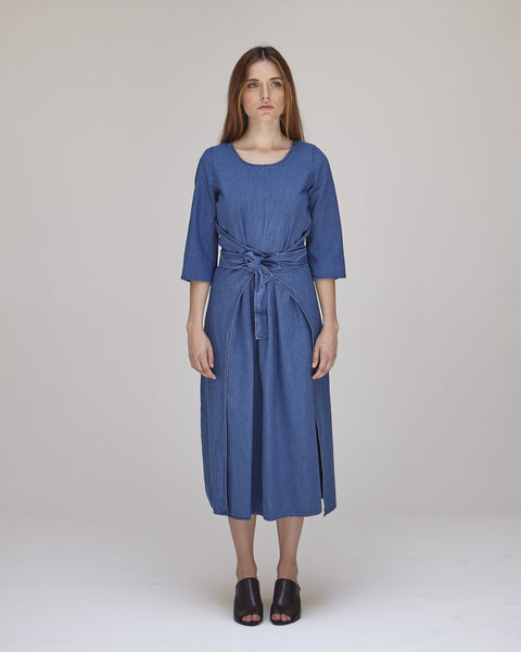 Hester Dress in Indigo - Founders & Followers - Caron Callahan - 2