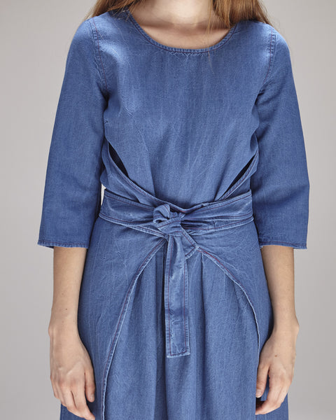 Hester Dress in Indigo - Founders & Followers - Caron Callahan - 6