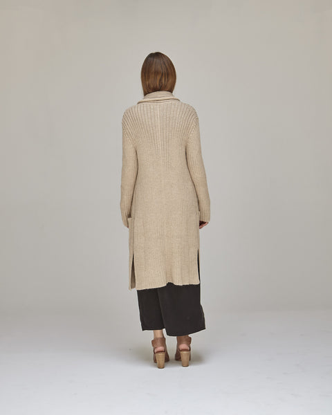 Kimmel Alpaca Cardigan in Light Camel - Founders & Followers - Shaina Mote - 3