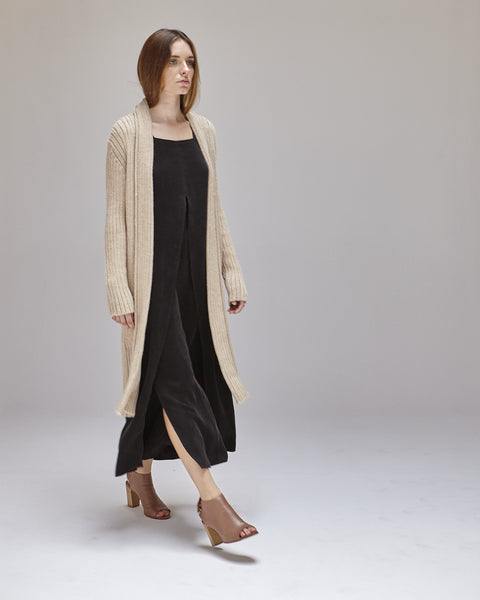 Kimmel Alpaca Cardigan in Light Camel - Founders & Followers - Shaina Mote - 4