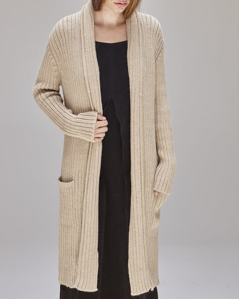 Kimmel Alpaca Cardigan in Light Camel - Founders & Followers - Shaina Mote - 5