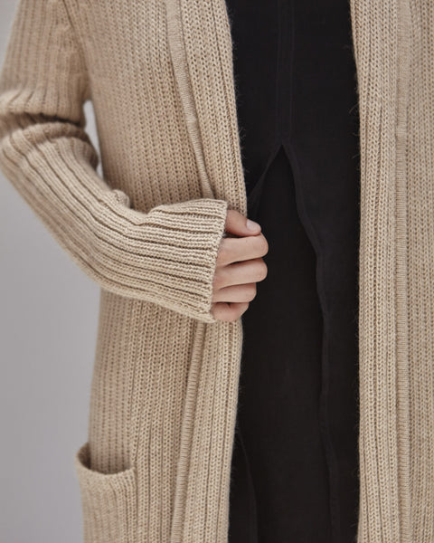 Kimmel Alpaca Cardigan in Light Camel - Founders & Followers - Shaina Mote - 6