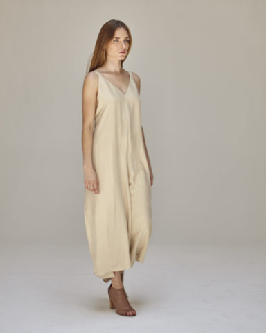 Florence Jumpsuit in Buff - Founders & Followers - Shaina Mote - 1