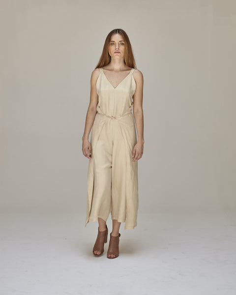 Florence Jumpsuit in Buff - Founders & Followers - Shaina Mote - 8