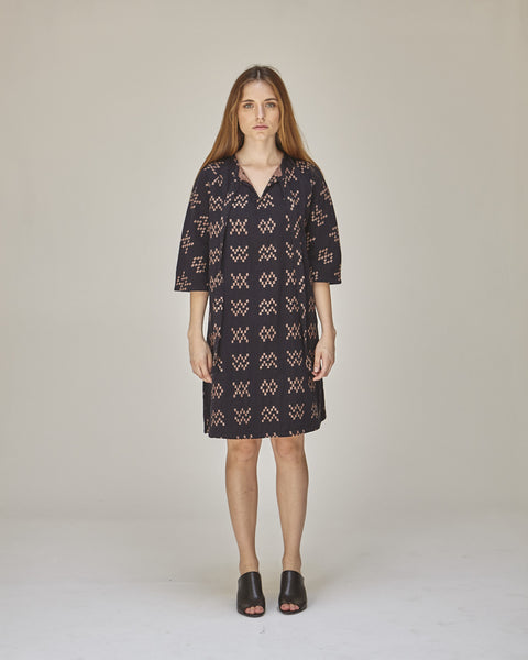Beatrice Dress in Black Sampler - Founders & Followers - Ace & Jig - 1