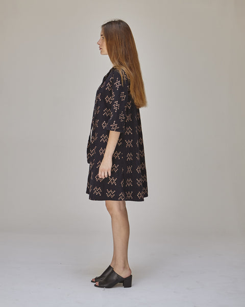 Beatrice Dress in Black Sampler - Founders & Followers - Ace & Jig - 3
