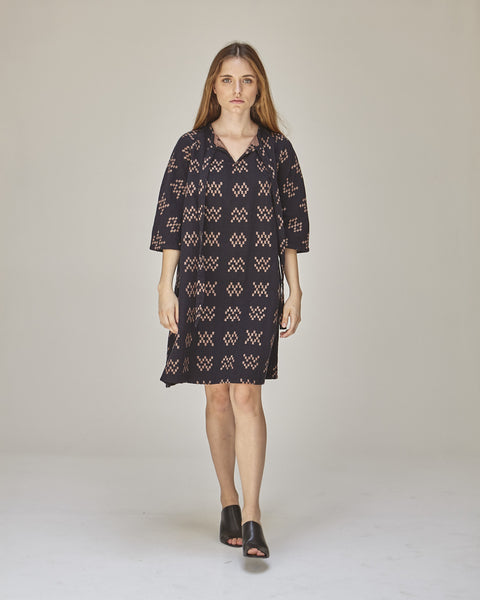 Beatrice Dress in Black Sampler - Founders & Followers - Ace & Jig - 5